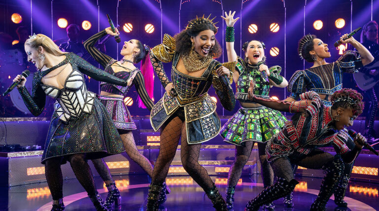 Broadway cast of SIX the Musical